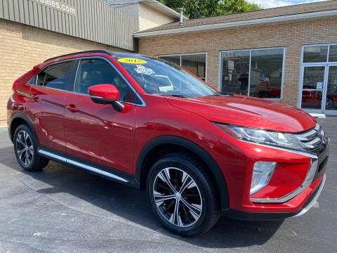 2018 Mitsubishi Eclipse Cross for sale at C Pizzano Auto Sales in Wyoming PA