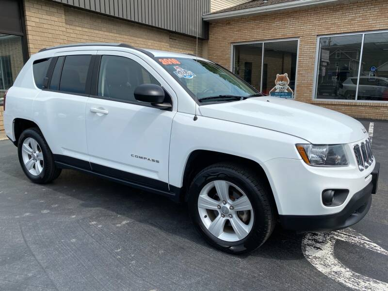 2016 Jeep Compass for sale at C Pizzano Auto Sales in Wyoming PA