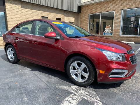 2015 Chevrolet Cruze for sale at C Pizzano Auto Sales in Wyoming PA