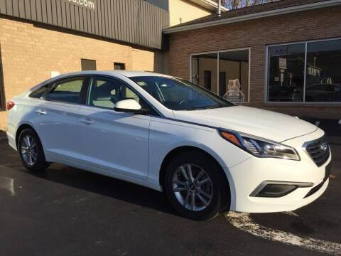 2017 Hyundai Sonata for sale at C Pizzano Auto Sales in Wyoming PA