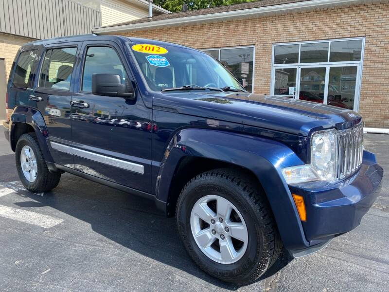 2012 Jeep Liberty for sale at C Pizzano Auto Sales in Wyoming PA