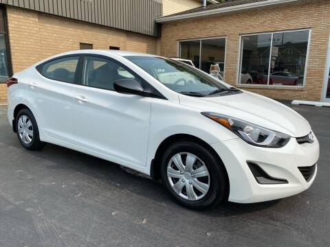 2016 Hyundai Elantra for sale at C Pizzano Auto Sales in Wyoming PA