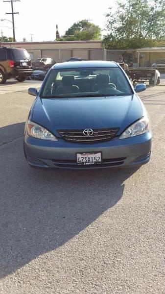 2003 Toyota Camry Blue Book