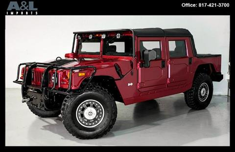 HUMMER H1 Alpha For Sale in Texas - Carsforsale.com