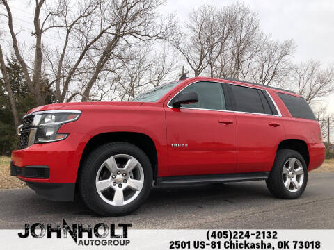 2015 Chevrolet Tahoe for sale at JOHN HOLT AUTO GROUP, INC. in Chickasha OK