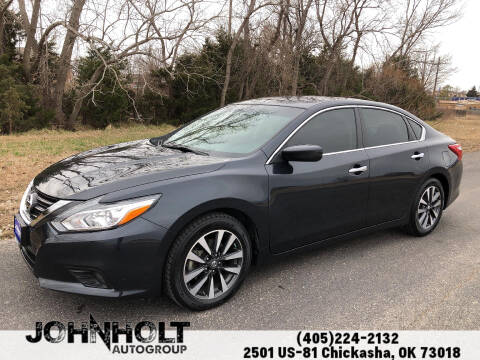 2017 Nissan Altima for sale at JOHN HOLT AUTO GROUP, INC. in Chickasha OK