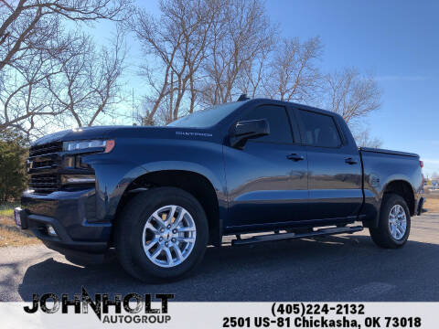 2019 Chevrolet Silverado 1500 for sale at JOHN HOLT AUTO GROUP, INC. in Chickasha OK
