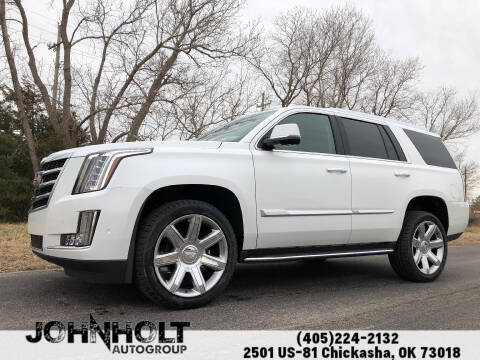 2020 Cadillac Escalade for sale at JOHN HOLT AUTO GROUP, INC. in Chickasha OK
