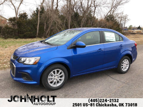 2020 Chevrolet Sonic for sale at JOHN HOLT AUTO GROUP, INC. in Chickasha OK