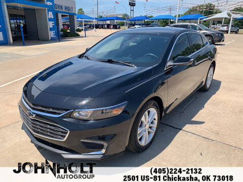 2018 Chevrolet Malibu for sale at JOHN HOLT AUTO GROUP, INC. in Chickasha OK