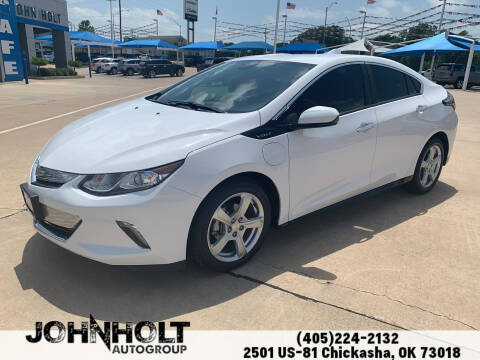 2017 Chevrolet Volt for sale at JOHN HOLT AUTO GROUP, INC. in Chickasha OK