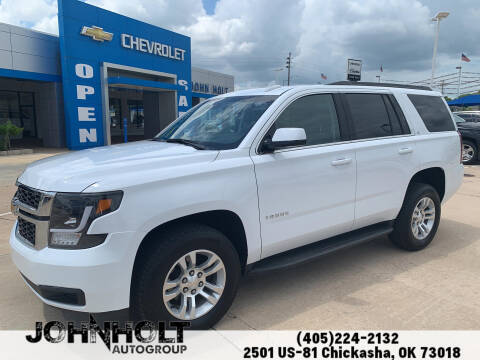 2019 Chevrolet Tahoe for sale at JOHN HOLT AUTO GROUP, INC. in Chickasha OK