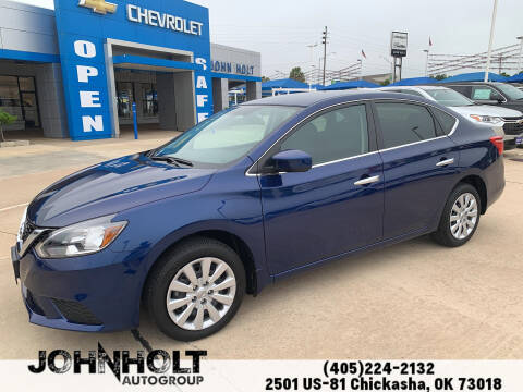 2019 Nissan Sentra for sale at JOHN HOLT AUTO GROUP, INC. in Chickasha OK