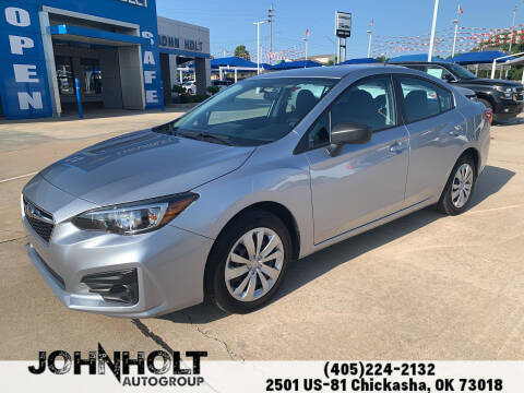 2019 Subaru Impreza for sale at JOHN HOLT AUTO GROUP, INC. in Chickasha OK