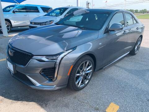 2020 Cadillac CT4 for sale at JOHN HOLT AUTO GROUP, INC. in Chickasha OK