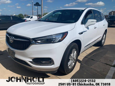 2020 Buick Enclave for sale at JOHN HOLT AUTO GROUP, INC. in Chickasha OK