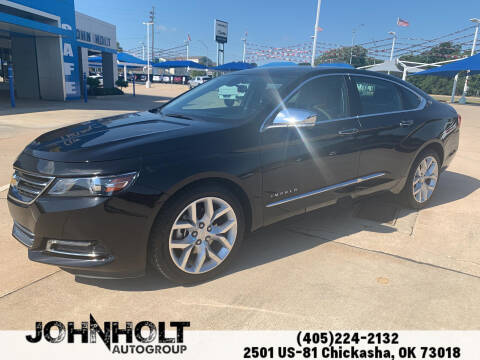 2020 Chevrolet Impala for sale at JOHN HOLT AUTO GROUP, INC. in Chickasha OK