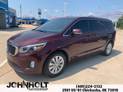 2016 Kia Sedona for sale at JOHN HOLT AUTO GROUP, INC. in Chickasha OK