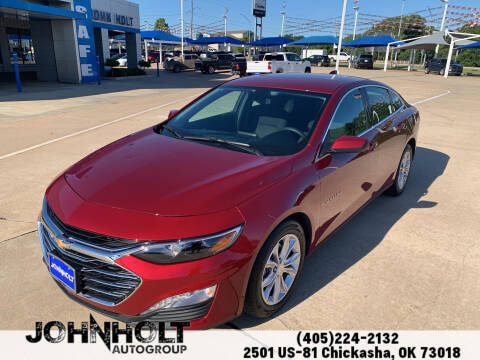 2020 Chevrolet Malibu for sale at JOHN HOLT AUTO GROUP, INC. in Chickasha OK
