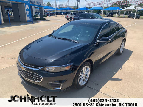 2016 Chevrolet Malibu for sale at JOHN HOLT AUTO GROUP, INC. in Chickasha OK