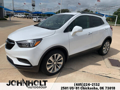 2017 Buick Encore for sale at JOHN HOLT AUTO GROUP, INC. in Chickasha OK