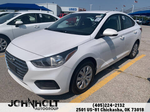 2019 Hyundai Accent for sale at JOHN HOLT AUTO GROUP, INC. in Chickasha OK