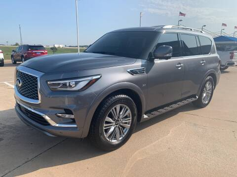 2018 Infiniti QX80 for sale at JOHN HOLT AUTO GROUP, INC. in Chickasha OK