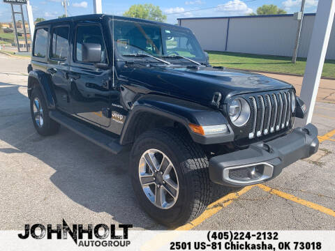 2018 Jeep Wrangler Unlimited for sale at JOHN HOLT AUTO GROUP, INC. in Chickasha OK