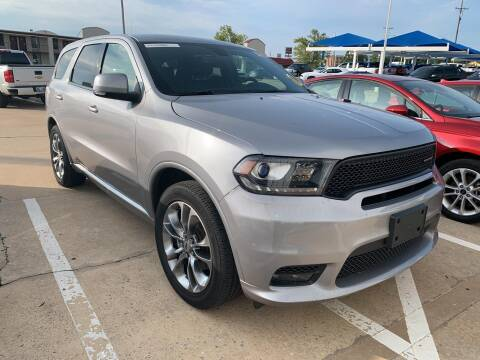 2019 Dodge Durango for sale at JOHN HOLT AUTO GROUP, INC. in Chickasha OK