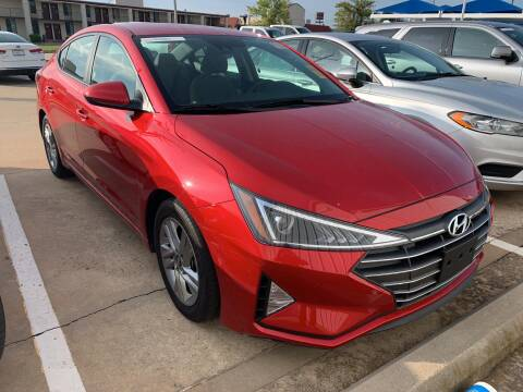 2020 Hyundai Elantra for sale at JOHN HOLT AUTO GROUP, INC. in Chickasha OK
