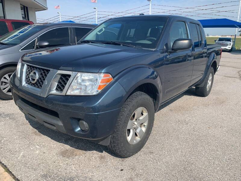 2013 Nissan Frontier for sale at JOHN HOLT AUTO GROUP, INC. in Chickasha OK