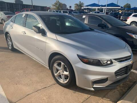 2017 Chevrolet Malibu for sale at JOHN HOLT AUTO GROUP, INC. in Chickasha OK