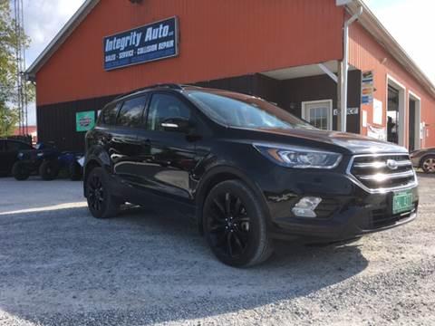 2017 Ford Escape for sale in Sheldon, VT