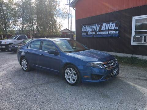 2010 Ford Fusion for sale in Sheldon, VT