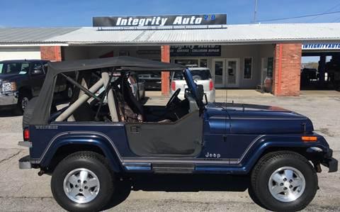 1990 Jeep Wrangler for sale in Sheldon, VT