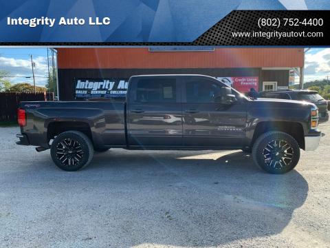 2015 Chevrolet Silverado 1500 for sale at Integrity Auto LLC - Integrity Auto 2.0 in St. Albans VT