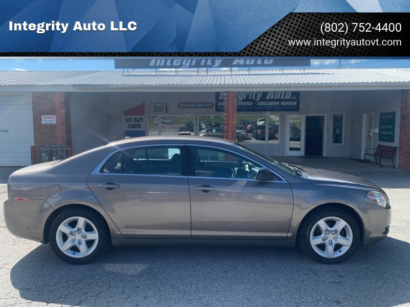 2010 Chevrolet Malibu for sale at Integrity Auto LLC - Integrity Auto 2.0 in St. Albans VT