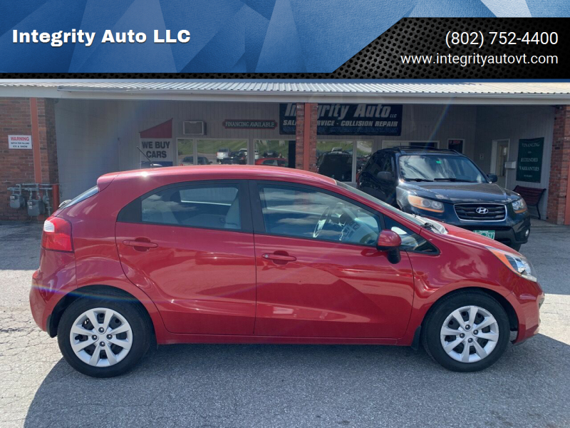 2013 Kia Rio 5-Door for sale at Integrity Auto LLC - Integrity Auto 2.0 in St. Albans VT