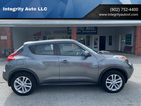 2014 Nissan JUKE for sale at Integrity Auto LLC - Integrity Auto 2.0 in St. Albans VT