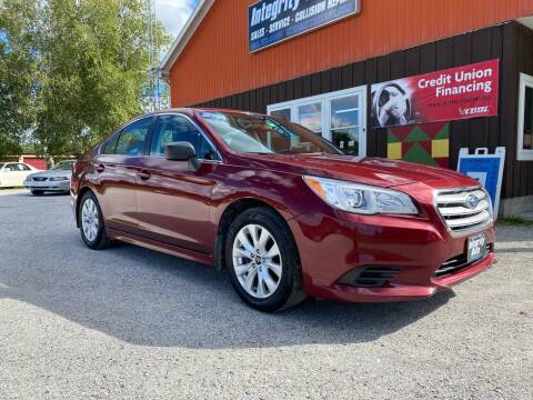 2017 Subaru Legacy for sale at Integrity Auto LLC in Sheldon VT
