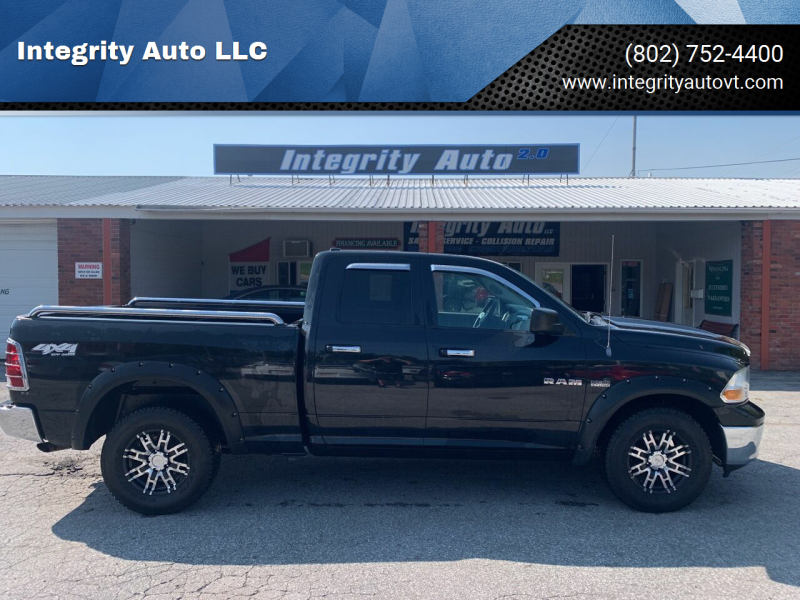 2010 Dodge Ram Pickup 1500 for sale at Integrity Auto LLC - Integrity Auto 2.0 in St. Albans VT