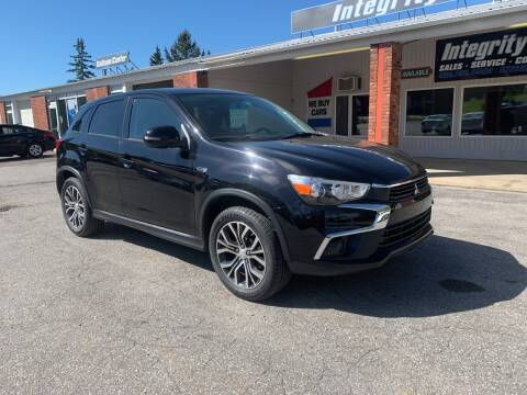 2016 Mitsubishi Outlander Sport for sale at Integrity Auto LLC in Sheldon VT