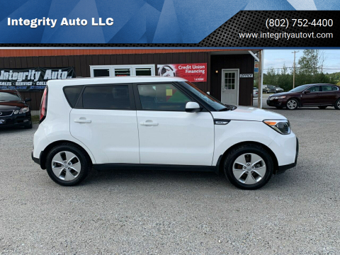 2016 Kia Soul for sale at Integrity Auto LLC in Sheldon VT