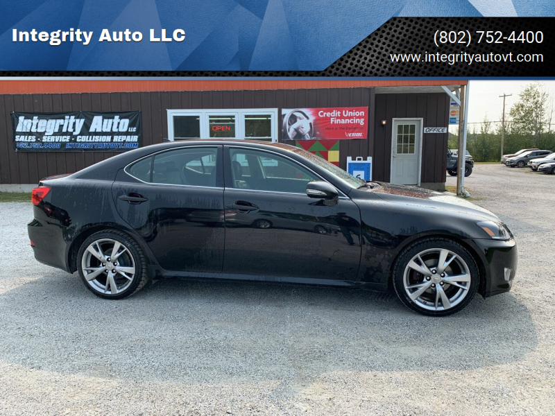 2009 Lexus IS 250 for sale at Integrity Auto LLC - Integrity Auto 2.0 in St. Albans VT