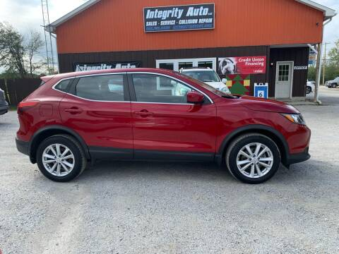 2017 Nissan Rogue Sport for sale at Integrity Auto LLC - Integrity Auto 2.0 in St. Albans VT