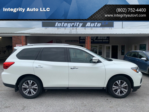2019 Nissan Pathfinder for sale at Integrity Auto LLC - Integrity Auto 2.0 in St. Albans VT