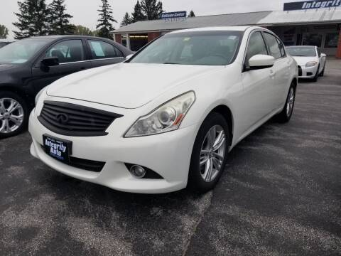 2011 Infiniti G37 Sedan for sale at Integrity Auto LLC - Integrity Auto 2.0 in St. Albans VT