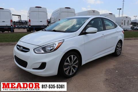 2017 Hyundai Accent for sale in Fort Worth, TX