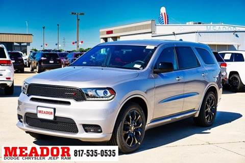 2019 Dodge Durango for sale in Fort Worth, TX