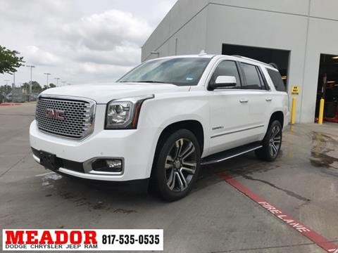 2017 GMC Yukon for sale in Fort Worth, TX